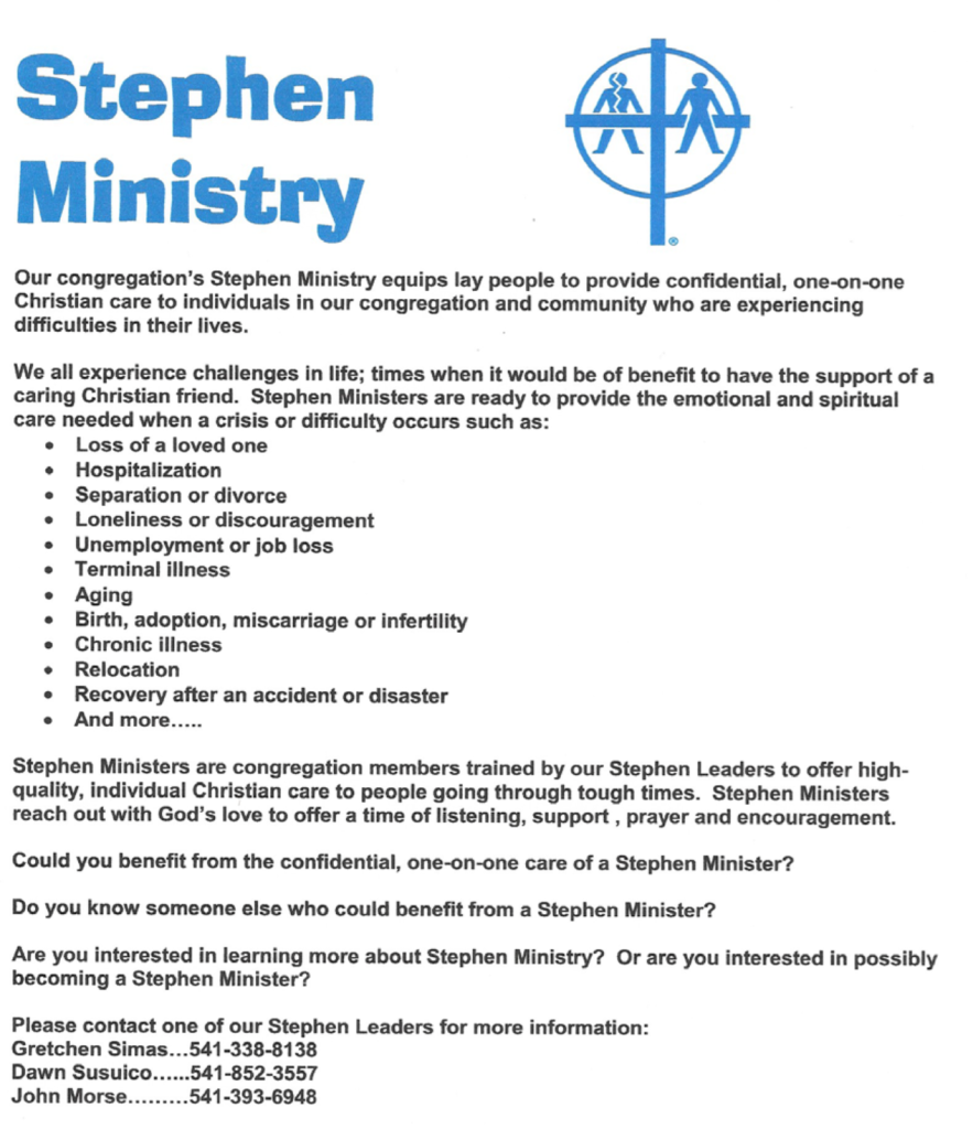 Stephen Misintry page